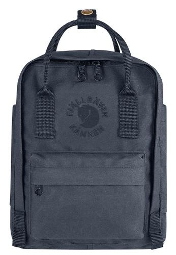 Fjallraven Kanken grey Slate Re Kanken Mini Backpack 5C535AC80E76FCGS_1