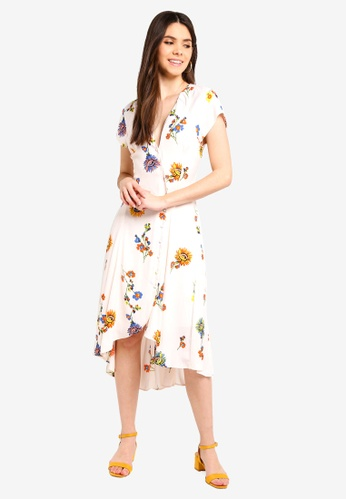 Free People white Lost In You Midi Dress 2DFC6AA2DAE9C7GS_1