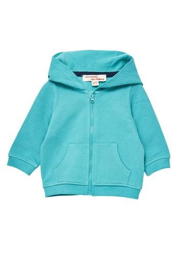 Du Pareil Au Même (DPAM) blue Casual Hoodie 3C59DKA25E3875GS_1