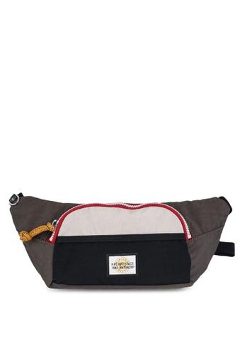 Kipling brown and multi and beige Yura Belt Bag 65B52AC425903DGS_1