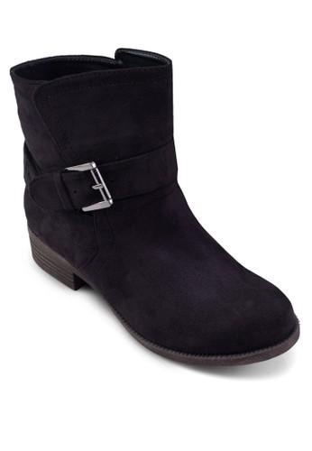 Andrea 扣環踝zalora鞋靴, 女鞋, 靴子
