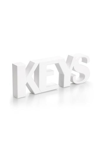 Qualy Qualy Keys Key Holder (White) FA2FFHL504C76DGS_1