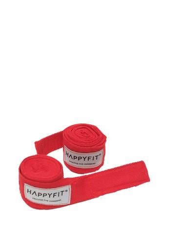 Happyfit red HAPPYFIT BOXING HAND WRAPS 274CM - RED 525DCACFA3A580GS_1