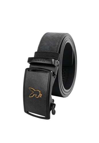Playboy black Playboy 35mm Automatic Belt 22554AC53E85DFGS_1