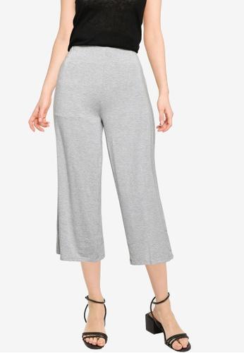 Springfield grey Elasticated Waist Culottes 7B0C1AAB758DD8GS_1