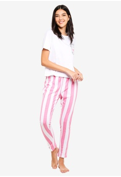 dfa4d51bd081b 37% OFF MISSGUIDED I Heart Coffee Long Leg Pj Set RM 109.00 NOW RM 68.90  Sizes 12 14 · MISSGUIDED multi Satin Mono Stripe ...