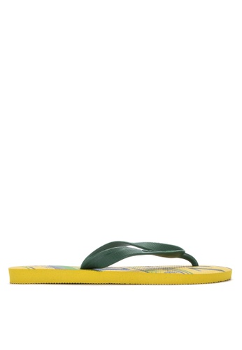 Dupe yellow Selecoes Brasil Sandals & Flip Flops F9CEASHAB0F0C7GS_1