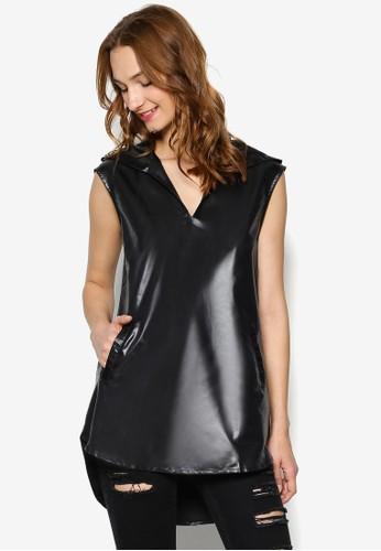 V 口翻領無袖風衣, 服飾esprit 衣服, 外套