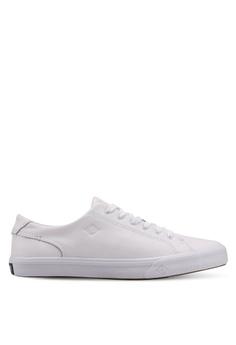 03c0e40ee Sperry white Striper II LTT Leather Sneakers 54FDBSH561B232GS 1