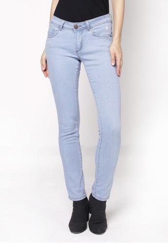 nicole blue Basic Slim Jeans 4CCE6AA577ECCDGS_1