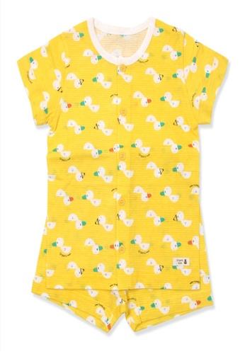 Organic mom Organic Cotton Ward Duck Pajamas 21B39KA2F34797GS_1