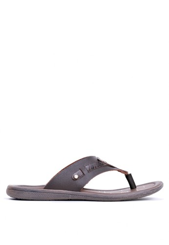 Tony Perotti brown Tony Perotti Sandals Barney - Brown 0E539SHE265C7EGS_1