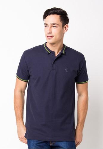 Endorse Polo Shirt E St Plane Navy Blue END-PF117
