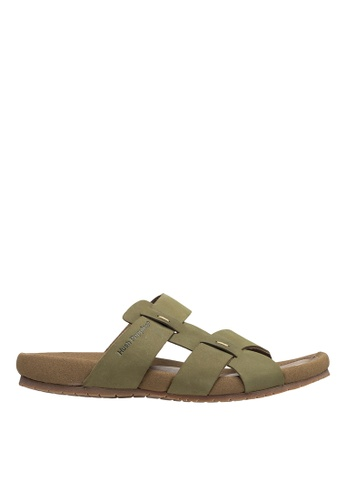 Hush Puppies green Hush Puppies Keeps 4 Slide - Green CA250SH6AF9F0EGS_1