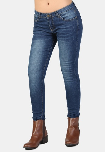 London Rag blue Low Rise Skinny Jeans 662F1AAEB4BEF2GS_1