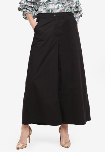 Zalia black Crop Wide Leg Pants 84630AA8AA6C49GS_1