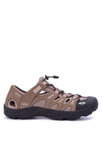 Krooberg brown Rambler Shoes 7C46ASH071253CGS_1