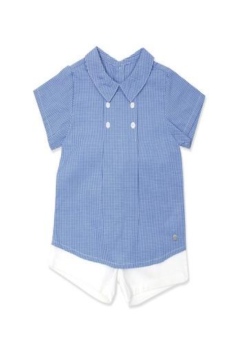 Organic mom blue Organic Cotton Nicole Shirt Outfit 5060AKA34D0EAEGS_1