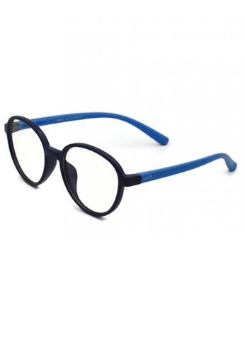 jojo blue Oval Blue Light Filtered Glasses DFD74KC109693BGS_1