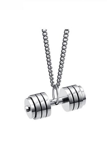 HAPPY FRIDAYS Fitness Bodypump Pendant Necklace JW QF-DZ120 F9E23AC1A7EC44GS_1