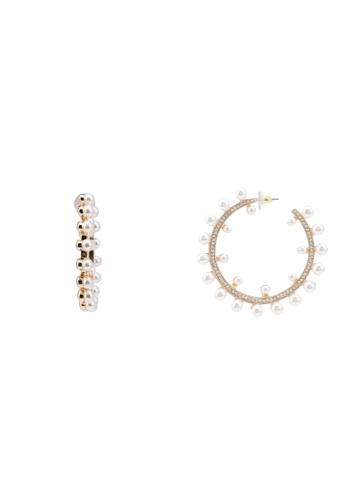 ALDO silver Loreveth Pierced Earrings 32DA2ACF58EC1BGS_1