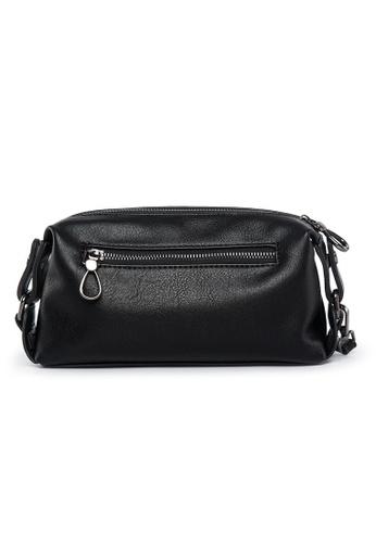 Lara black Men's Solid Tone Hand Bag CDA0AACD1F835CGS_1