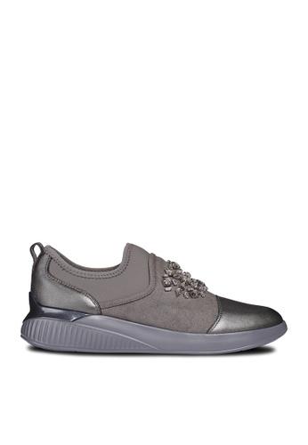 Geox brown Theragon Sneakers F89E3SHFAE58E4GS_1