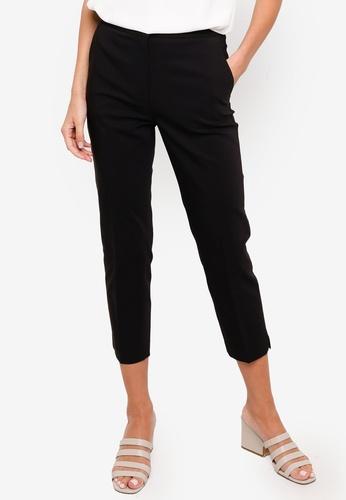 H&M black Tailored Trousers 6B55BAA8F71788GS_1