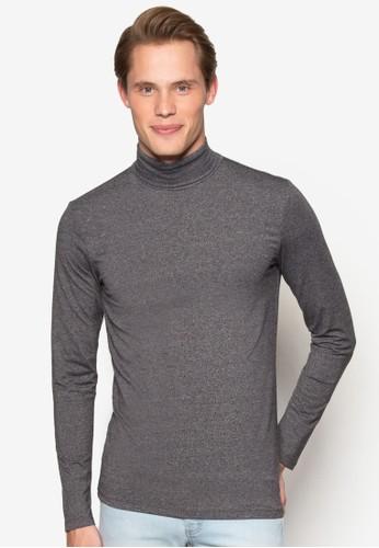 高領混棉長袖T-shirt、 服飾、 服飾NewLook高領混棉長袖上衣最新折價