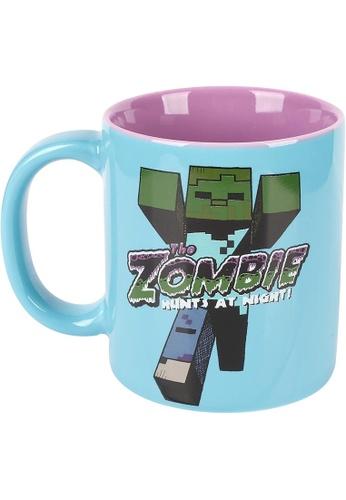 Jinx blue Minecraft Zombie Ceramic Mug 9FFE5HL8D3CF0CGS_1