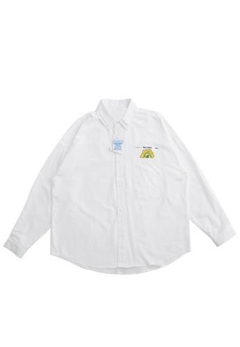 Twenty Eight Shoes Loose Double Collar Printed Shirt 2090W20 03662AA3BFE7B6GS_1