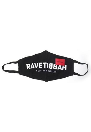 Rave Habbit black and red Cool Mask Rave Habbit Black AB0BDES83E1283GS_1