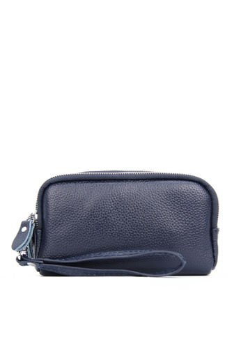 HAPPY FRIDAYS Three Layers Litchi Grain Leather Wallet JN2026 516C3AC1B675F4GS_1