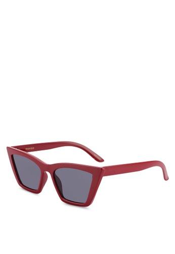 2c5e0c7a0c Shop MANGO Acetate Frame Sunglasses Online on ZALORA Philippines