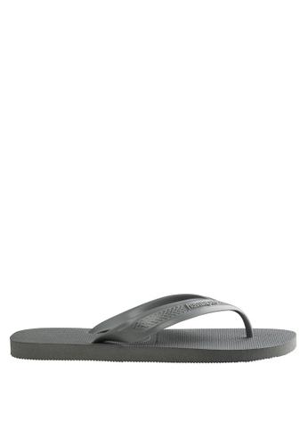 Havaianas grey Top Max Flip Flops 7ECC7SH2614E92GS_1
