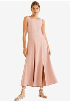 8bc9776dff2f9 Buy Haydena Grace Dress in Peach Online | ZALORA Malaysia