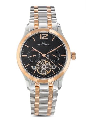 217.427 ST2502 39mm esprit服飾機械金屬鍊錶, 錶類, 飾品配件