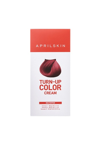 April Skin red Turn-Up Hair Color Cream #Red Pepper AP949BE04XRRSG_1
