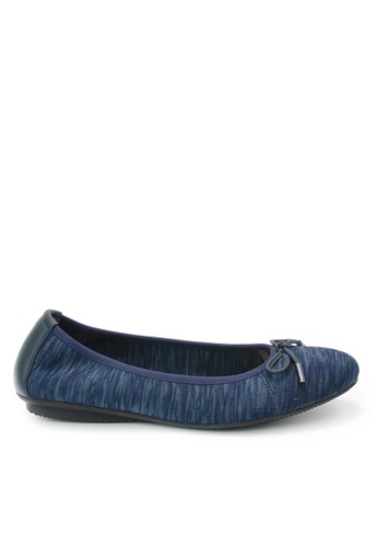 Twenty Eight Shoes blue Knit Flats JD20 5AEEESH088CA2EGS_1