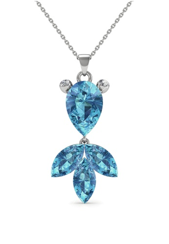Her Jewellery blue Her Jewellery Goldfish Pendant (Blue) with Necklace Chain with 18K Gold Plated 994ADAC88A62F8GS_1