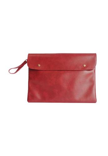 "Knocks red 14/15"" Carlton Laptop Case (Red) KN307AC34WYBSG_1"