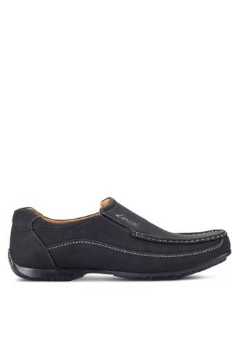 Louis Cuppers black Stitched Loafers LO977SH56RCDMY_1