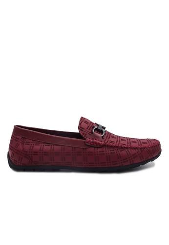 Goldlion red Goldlion Premium Loafer Shoes in Red (HSH204TG92B-30) 9C649SH1DA6C72GS_1
