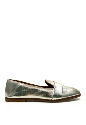 Kenneth Cole New York silver GLIDE SLIDE - Slip On Sneaker KE615SH14AEJMY_1