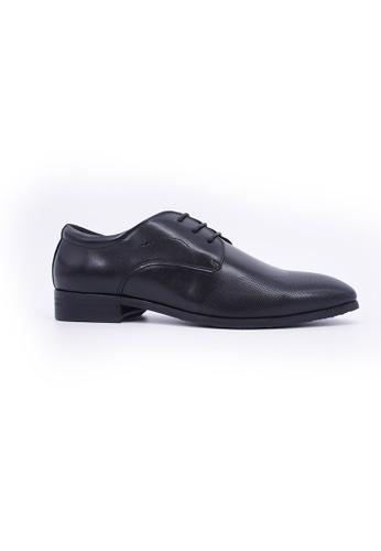 Hanson Bootmaker black Hanson Bootmaker Lace Up Derby- Black HA656SH0GHVUSG_1