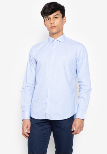9b480b2e840 Shop Cortefiel Slim Fit Long Sleeve Online on ZALORA Philippines