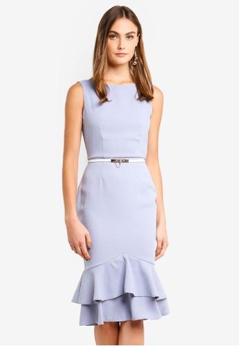 Paper Dolls blue Pephem Dress C69C0AA524F3EBGS_1
