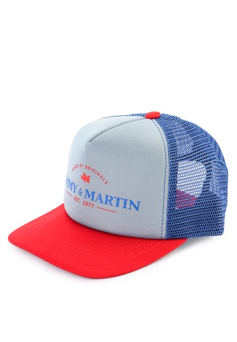 Jimmy Martin blue Topi Trucker B8B6FACBD444AEGS 1 b79eafa883