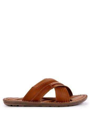 Watchout! Shoes brown Sandals Slip On B8805SH2FBC193GS_1