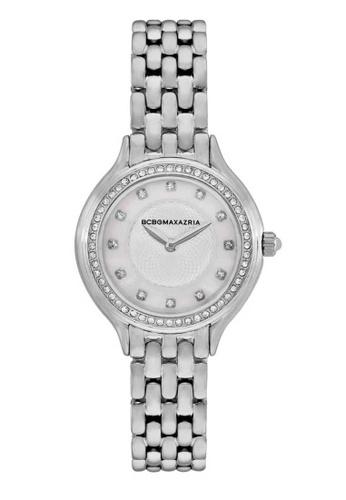 BCBG silver BCBGMAXAZRIA BG50999001 Silver and Stainless Steel Watch 93F4BAC5CA6B4AGS_1